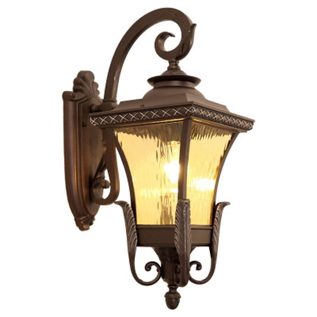アメリカの家庭用壁ランプ、屋外の防水ヴィラの中庭の廊下レトロ風景の装飾ランプ、室内照明 B07TMYRHGP