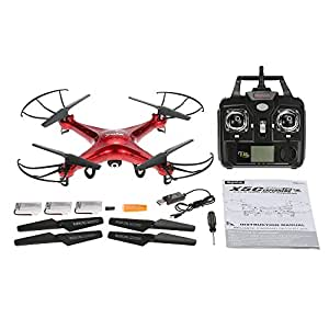 GoolRC Syma X5C Drone con Cámara HD 2.0MP 2.4GHz 4CH 6-Axis ...