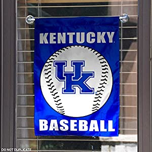 Kentucky Wildcats Baseball Garden Flag and Yard Banner
