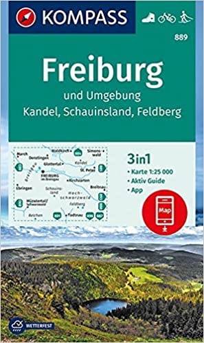Freiburg Surroundings Aktiv Guide 3in1 Wanderkarte 1 25000