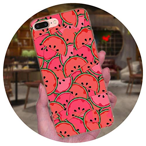 Fruit Watermelon for Galaxy On5 On7 2015 Grand Alpha G850 Core2 Prime S2 I9082 Soft, for Galaxy Core2 (Princess Galaxy S2 Samsung Case)