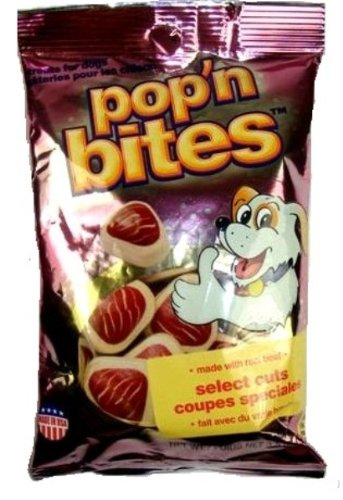 Pop N' Bites Select Cuts Dog Treats, 30-Count, My Pet Supplies