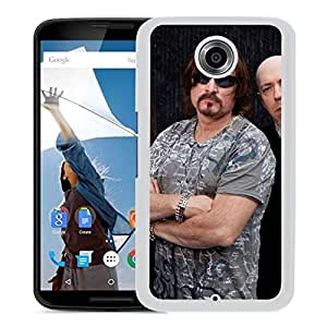 Beautiful Designed Cover Case With Dream Theater Bald Glasses Band Beard (2) For Google Nexus 6 Phone Case