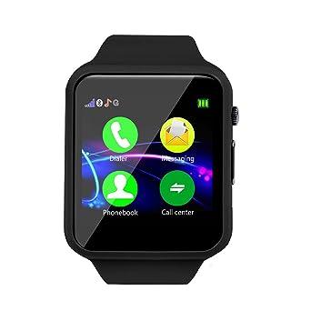Zycshang Montre Téléphone Enfant Composition Intelligente Bluetooth CroBedx