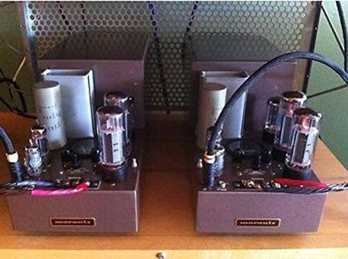 Set of Two Vintage MARANTZ MODEL 5 Tube Pre-Amp Amplifiers Amplifiers Near Mint