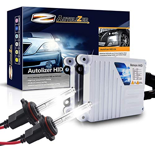 Autolizer 55W Xenon HID Lights [9006 HB4-6000K Pure White]