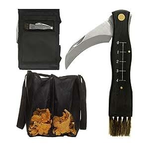 Sagaform 0000675 - Juego de mochila y herramientas para recoger setas