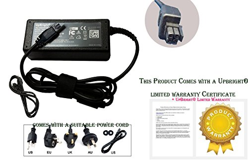 UpBright NEW 4-Prong AC / DC Adapter For Radiant Systems P1220 P1220-0267 P1220-0022 P1220-1116-BA P1220-0690-BA P1220-0269 P1220-0153 P1220-0159 POS Terminal 12V Power Supply Cord