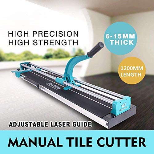 Professional Cutter Tile 48″ Manual Ceramic Porcelain Thickness 0.24-0.6 Tool Heavy Duty Cutting Glass, Mechanic Tools Equipment Pro