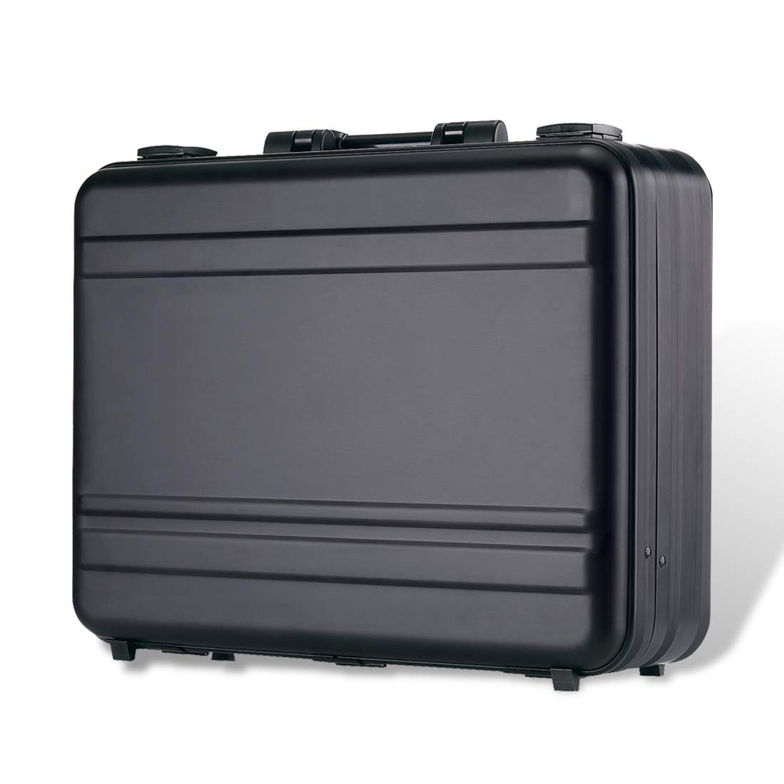 ブリーフケースアルミニウム合金 ワンステップ成形プロセスラップトップバッグ ハードウェアツールボックス B07H27VDJ2  14.5X10.6X6.1 Inch