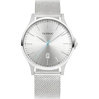 Tayroc Armbanduhr Classic Silberfarben TXM106