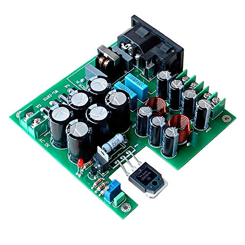 ModuleFly 3-Stage Filtering 50W DC Linear Power Supply DC12V for Upgrade Audio Speaker Related Equipment NAS CAS PC HiFi T0066
