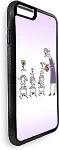 ديكالاك كفر حماية خلفي ، ابل ايفون 8 ، بتصميم ازرع العلم في اطفالك ، متعدد الالوان