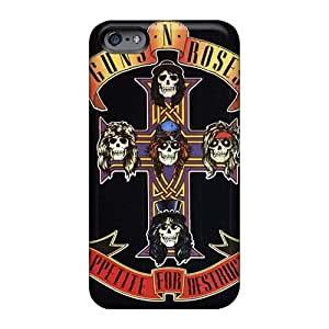 High Quality Hard Cell-phone Case For Iphone 6 (ZXd1550iLBS) Custom Attractive Foo Fighters Image