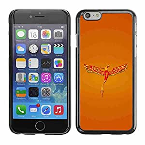 "Shell-Star ( Golden Phoenix ) Fundas Cover Cubre Hard Case Cover para 5.5"" iPhone 6 Plus"