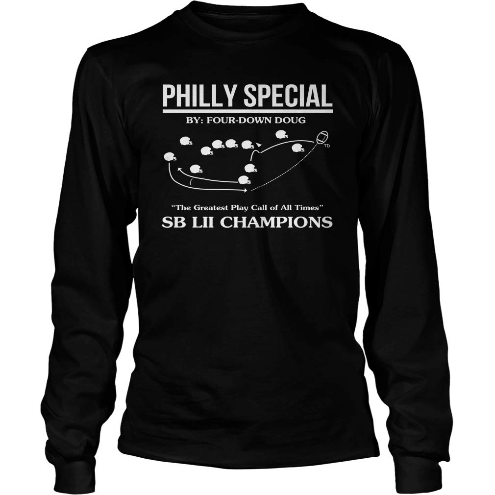 Shirts Gifts American Football Mishozi Philly Special American Football Long Sleeve T-Shirt Unisex