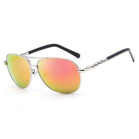 BAIJJ Gafas Gafas de Sol clásicas sin Marco Moda Espejo de ...