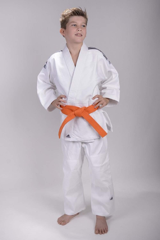 Details about adidas Kinder Judo Anzug EVOLUTION weiß Gr. 100 170 Ju Jutsu Kimono Jiu Jitsu Gi