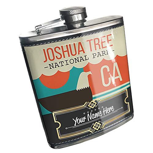 Neonblond Flask National Park Joshua Tree Custom Name Stainless Steel