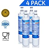Refrigerator Side By Side Premium Whirlpool 4396508, 4396510 Compatible Refrigerator Replacement Water Filter, Replacement PUR Water Filter for Kitchenaid Maytag Whirlpool Side By Side Refrigerator (4)