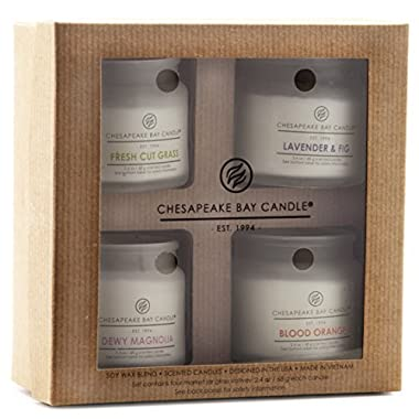 Chesapeake Bay Candle PT92145 Heritage Collection Votive Candles, Set of 4