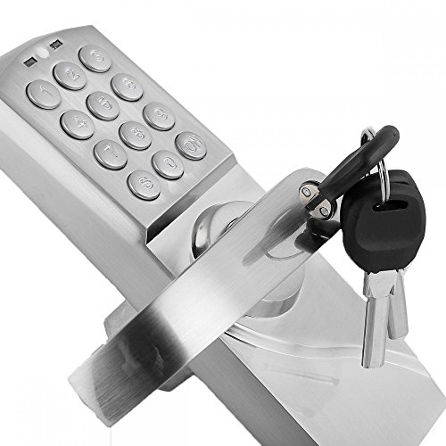 Digital Keyless Electronic Code Door Lock Keypad Security