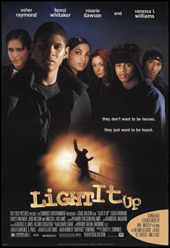 "Light It Up 1999 ORIGINAL MOVIE POSTER Drama - Dimensions: 27"" x 41"""