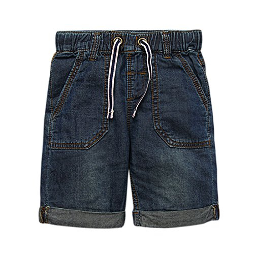 Boys Dark Blue Denim Jeans - 7