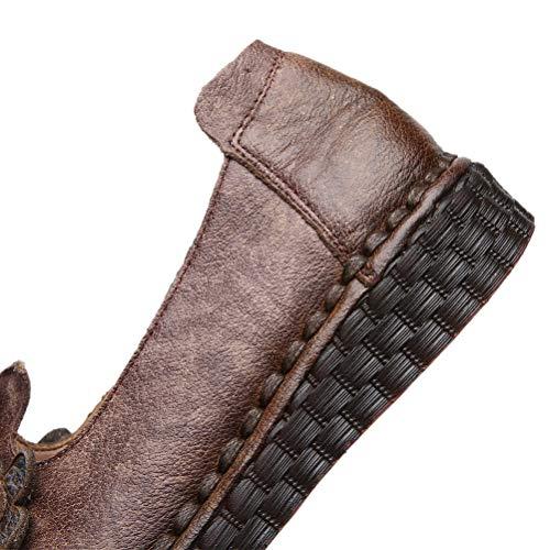 Donna Viola Comfort Con Pompe Scarpe Pelle Mallimoda In Fiore Retro SfOwapqq