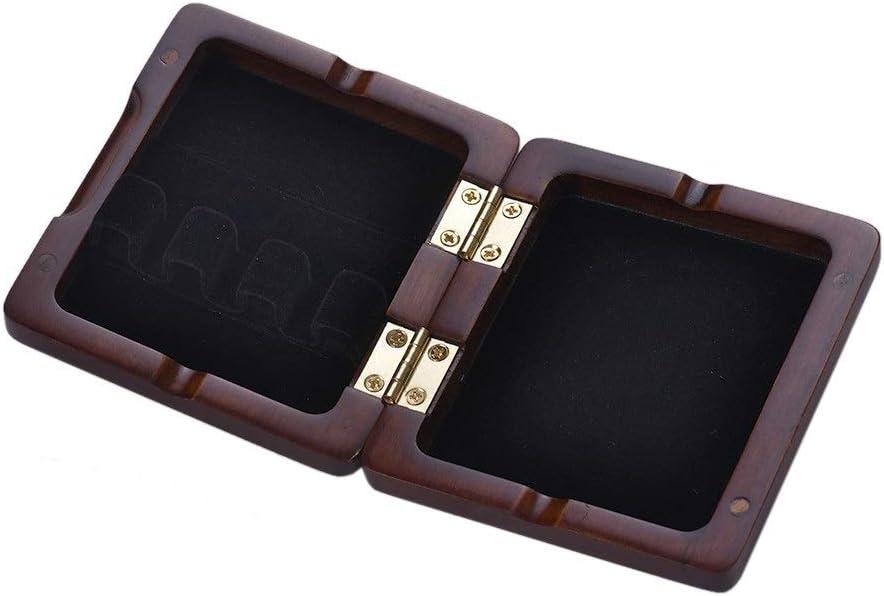 Youtaimei Producto satisfactorio 3pcs Caja de caña para Fagot de Bassoon Caja de caña para Fagot Tallada a Mano para cañas (Color: Granate): Amazon.es: Hogar