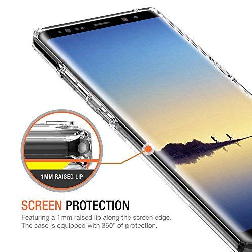 De Silicone Color Samsung Protection Crystal Wouier Note Coque Galaxy 5 8 Housse En Pour Transparent Etui 8 Mince Marbre Tpu Ultra conception Film S81q7w1