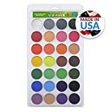 zebra face paint - Vegan Face Paint Kit - TOP 28 Color Palette - Face Paints 280 FULL FACES (Volume Painting) - Made in the USA - Hypo-allergenic, Paraben Free - 100% Satisfaction Guaranteed!