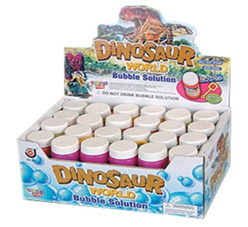 Liberty Imports Dinosaur World Bubble Solution Refill Bottle