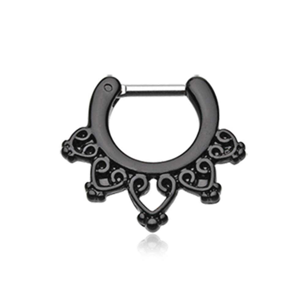 Colorline Royal Bliss Filigree Septum Clicker