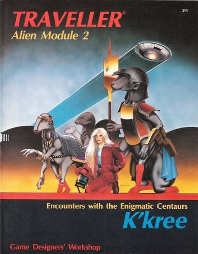 K'kree: Encounters with the Enigmatic Centaurs (Traveller Alien Module 2) (Traveller Alien Module compare prices)