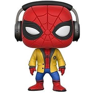 Funko Pop! Movies: Spider-Man HC - Spider-Man W/Headphones Collectible Vinyl Figure