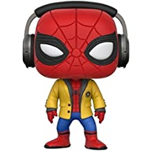 Movies HC-Spider-Man w/Headphones Collectible Vinyl Figure, Multi Color