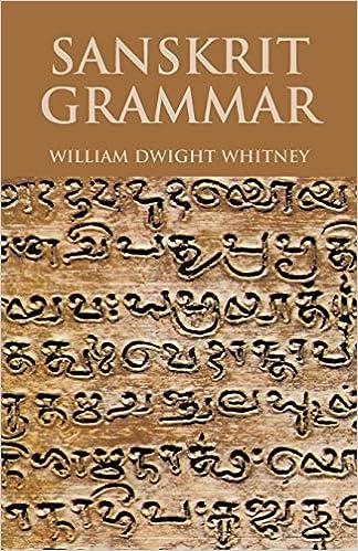 Sanskrit Grammar (Dover Language Guides): William Dwight