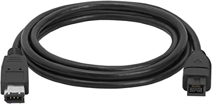 3 FT 9 PIN 6PIN Cable Bilingual FireWire 800 FireWire 400 Cable 3FT Black NEW