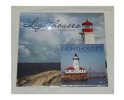 Lighthouses 2016 12 Month Calendar with Bonus Miniature Lighthouses Calendar