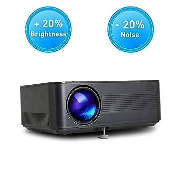Zichen Proyector de Video Proyector HD 1080P for películas y ...