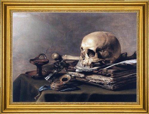 (Art Oyster Pieter Claesz Vanitas Still-Life - 18.05