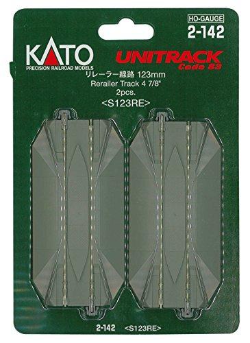 "Kato KAT2142 HO 123mm 4-7/8"" Straight Road Crossing (2)"