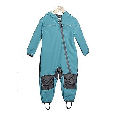 Outburst - Pantalón de peto - para bebé niño turquesa turquesa
