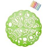 ALEX Toys - Active Play Garden Sidewalk Mandala with (6) Jumbo Chalks, 315G