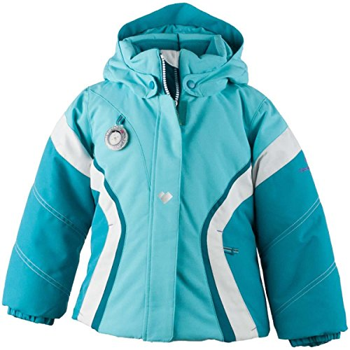 Obermeyer Kids Baby Girl's Aria Jacket (Toddler/Little Kids/Big Kids) Blue Reef 6 by Obermeyer Kids