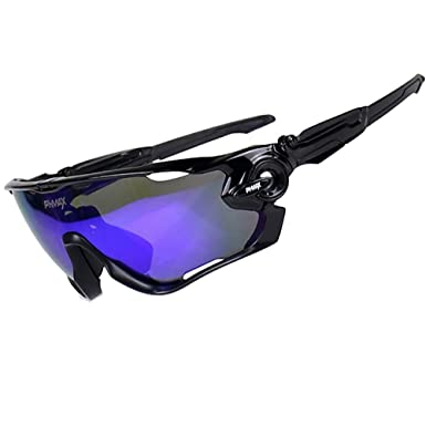 PHMAX Polarized UV Protection cycling glasses With 5 Lenses