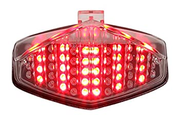 Amazon com: Integrated Sequential LED Tail Lights Clear for
