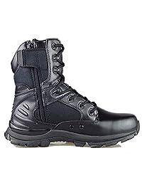 2ac23dfb4 GRAMOT Men's 083-B Jungle&Desert Tactical Boots Lace up Men Boots  Microfiber/Leather Military