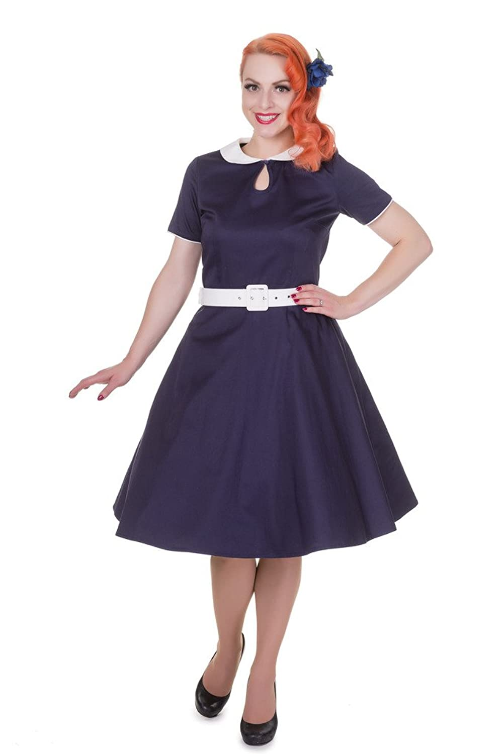 Dolly and Dotty™ \'Evelyn\' Pinup Vintage Cocktail Kleid Tellerrock ...
